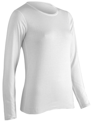 Womens Coldpruf Authentic Merino Wool Blend Thermal Shirt