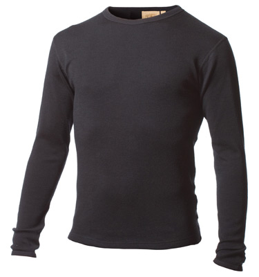 Mens Expedition Weight 100% Merino Wool Thermal Underwear Top