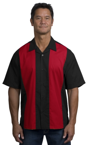 Mens Retro Style Golf Shirt