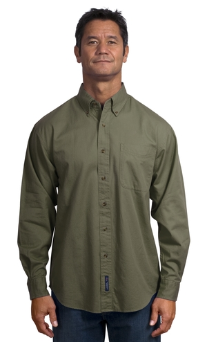 Port Authority® - Long Sleeve Twill Shirt. S600T.