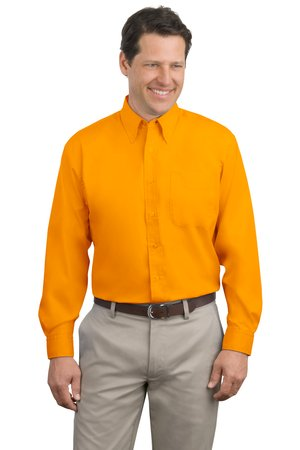 Port Authority® - Long Sleeve Easy Care Shirt. S608. - Click Image to Close