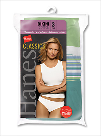 Womens Cotton Assorted Athletic Bikini Briefs