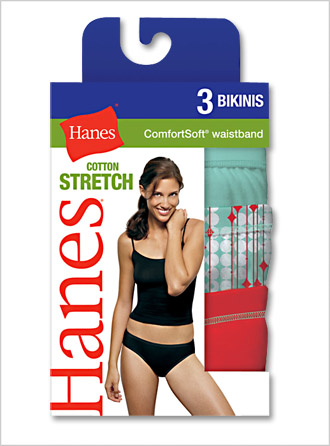 Womens Soft Cotton Stretch Athletic Bikini Briefs