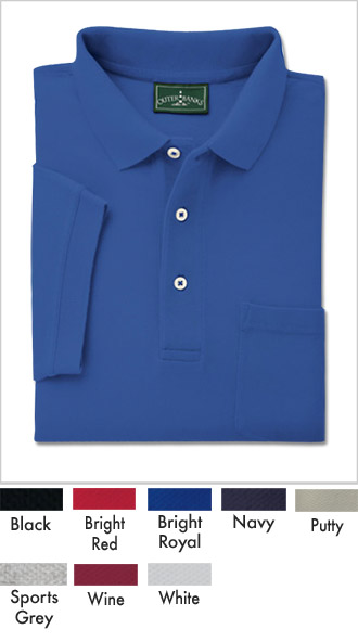 Mens Shrink Free Cotton Golfing Shirt