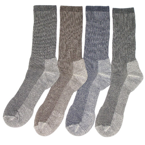 No Itch Merino Wool Outdoor Socks 4 Pack - Click Image to Close