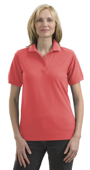Port Authority® - Ladies Silk Touch™ Sport Shirt. L50 - Click Image to Close