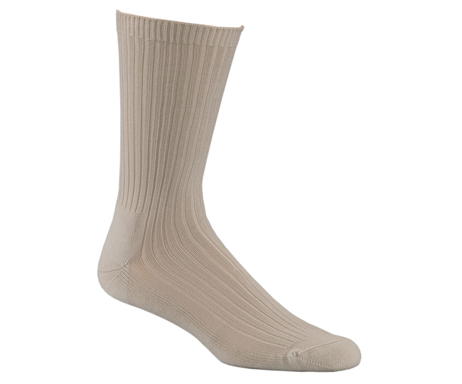 Sand Polypro Blend Odor Free Medical Socks